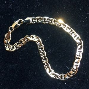 Other - EXCLUSIVE 18K GOLD MARINER BRACELET MADE IN ITALY